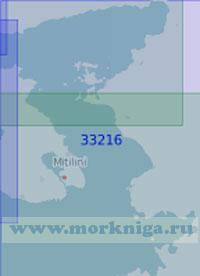 33216 Пролив Митилини (Дикили) (Масштаб 1:100 000)