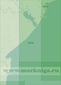 32100 От Одессы до Сулинского гирла (Масштаб 1:200 000)