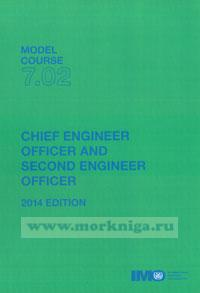 Chief engineer officer and second engineer officer. Model course 7.02