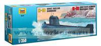 Советская атомная подводная лодка К-19. Сборная модель