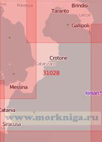31028 Западная часть Ионического моря (Масштаб 1:500 000)
