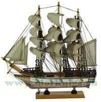 Модель парусника 34 см