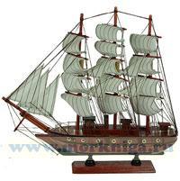Модель парусного корабля, L= 34см