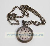 Часы с цепочкой TEMPUS FUGIT