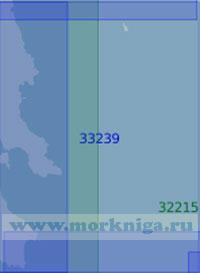 33239 От острова Китира до острова Парапола (Белопуло) (Масштаб 1:100 000)