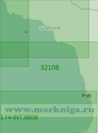 32108 От мыса Пицунда до порта Батуми (Масштаб 1:200 000)