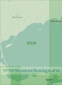 32120 Западная часть Азовского моря (Масштаб 1:250 000)