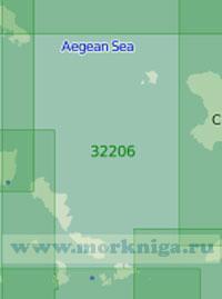 32206 От острова Скирос до острова Икария (Масштаб 1:200 000)