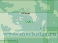 32210 От пролива Кафирефс (Доро) до залива Арголикос (Масштаб 1:200 000)