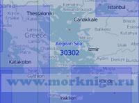 30302 Эгейское и Мраморное моря (Масштаб 1:1 000 000)