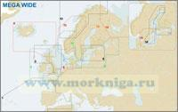 Германия, Дания и пролив Скагеррак (№7 EN-M004 MEGA WIDE)