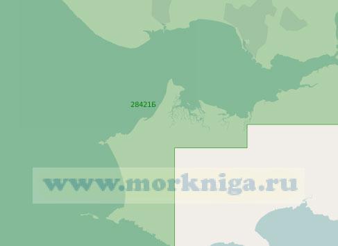 28421 Бухта Барри-Инлет и якорные места у острова Калди