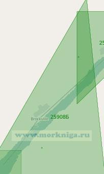25908 От острова Галоп до мыса Ок (Масштаб 1:25 000)