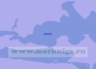 36892 Фолклендские (Мальвинские) острова. Порт - Стэнли с подходами (Масштаб 1: 30 000)