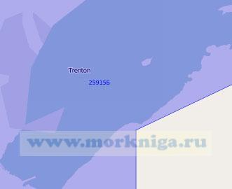 25915 Западная часть залива Бей-оф-Куинте (Масштаб 1:50 000)
