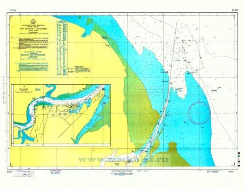 69552 Порт Белаван с подходами (Масштаб 1:25 000)