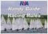 Handy Guide to the Racing Rules 2009-2012 RYA RYA 9781906435134