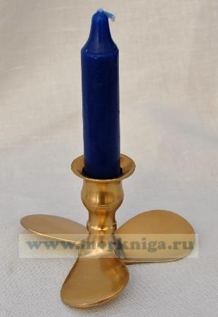 Подсвечник винт со свечой