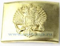 Бляха с гербом РФ