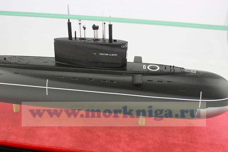 дизель электрических подводных лодок проекта 636.3 варшавянка
