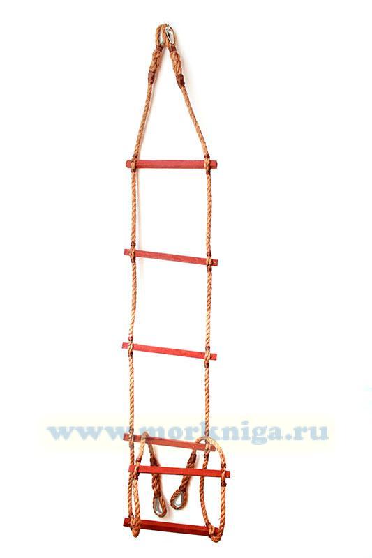 Лестница веревочная детская №1