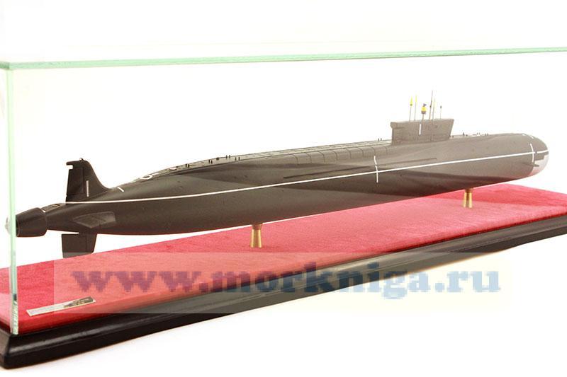 Модель атомной подводной лодки проекта 955
