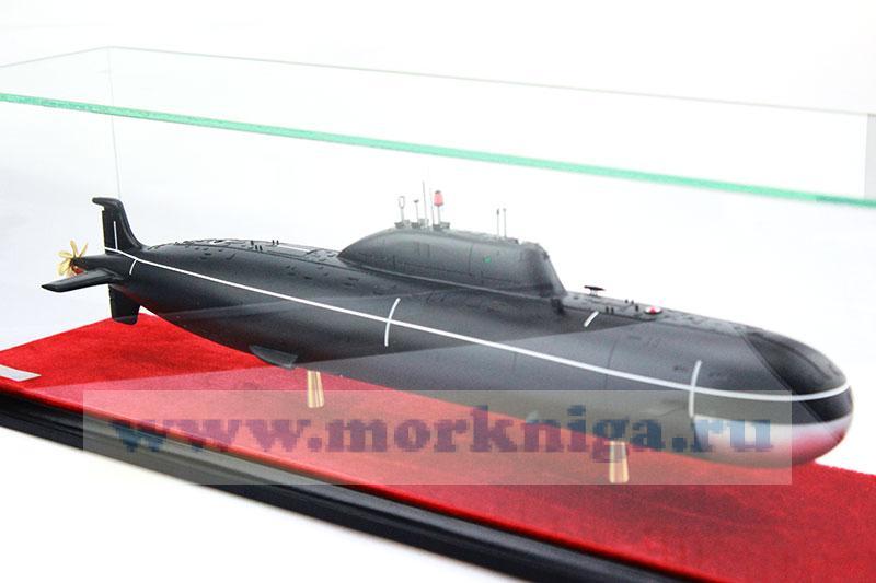 Макет атомной подводной лодки