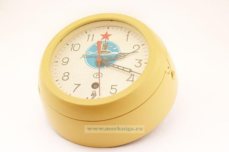 Часы судовые командирские с подводной лодкой