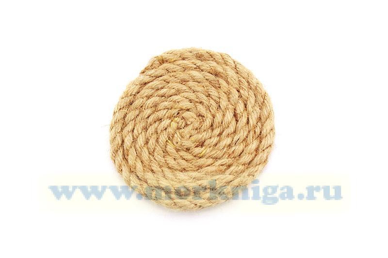 Подставка плетеная сервировочная (10 см)