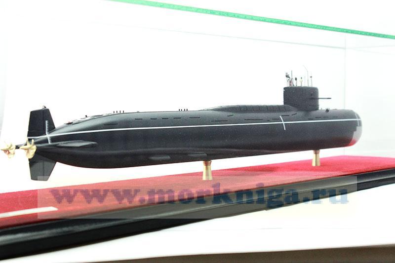 Макет атомной подводной лодки проекта 667 А