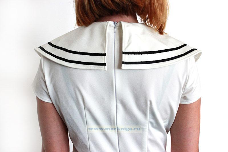 Женское платье Мечта моряка