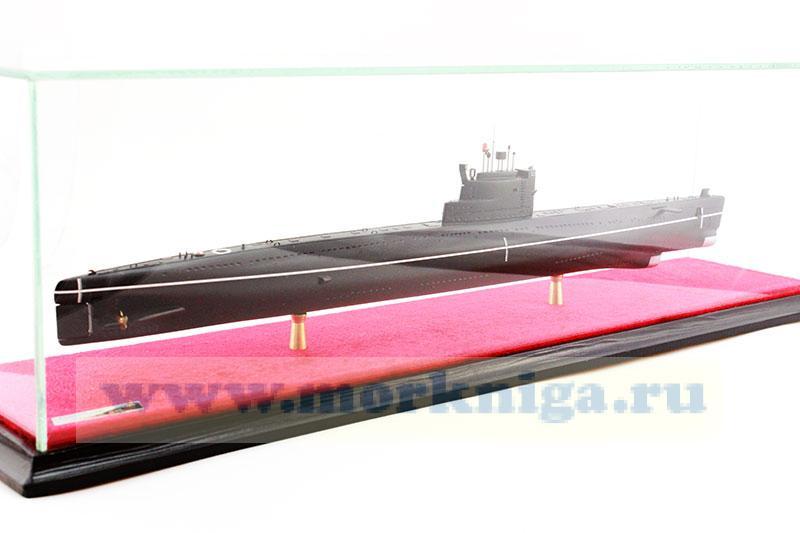 Модель подводной лодки проекта 613