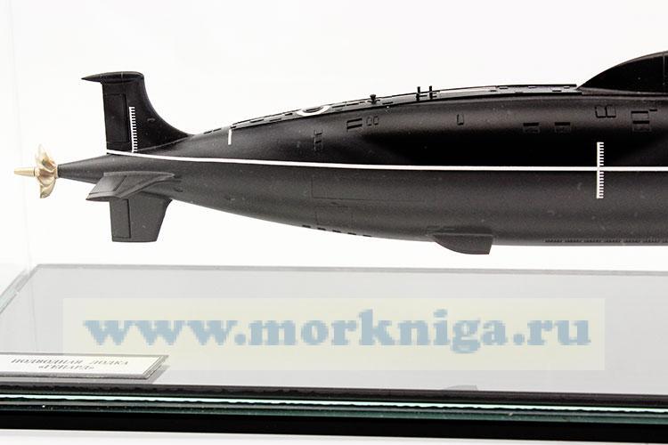"""Макет атомной подводной лодки пр. 971 """"Гепард"""""""