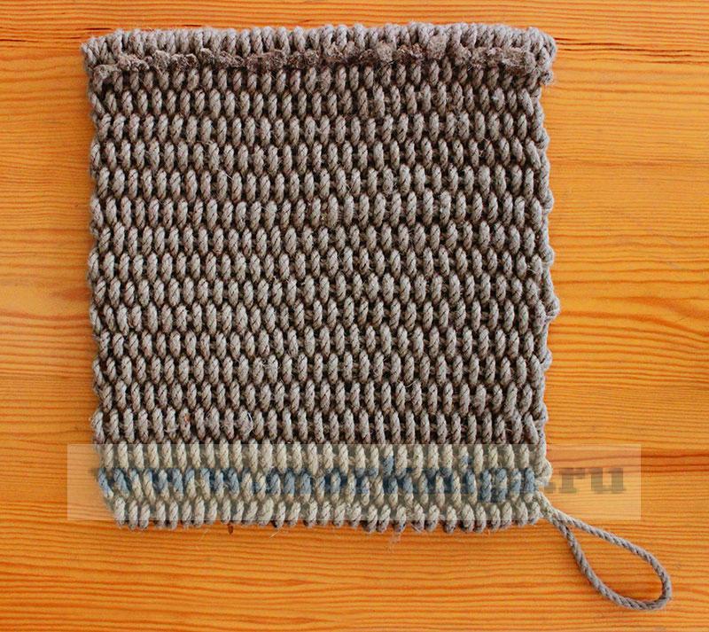 Мат плетеный 46 х 48 см