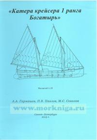 Чертежи кораблей Российского флота. Катера крейсера 1 ранга Богатырь (масштаб 1:35)