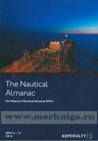 The nautical almanac 2014. NP314-14. Her Majesty's nautical almanac office