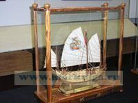 Макет вьетнамской джонки XVIII века