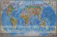 Животный и растительный мир Земли 1:35 000 000 (Ламинир.)