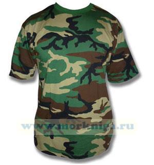 Тельняшка-футболка камуфляж (камыш.)