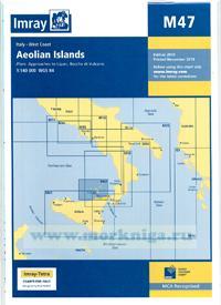 M47 Aeolian Islands Эольские (Липарские) острова (1:325 000)
