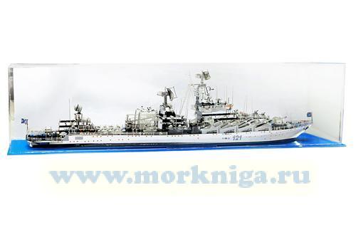 """Модель ракетного крейсера """"Москва"""""""
