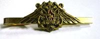 Зажим для галстука ВМФ (большой, орёл с якорями, чернёный)