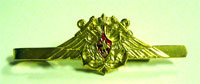 Зажим для галстука ВМФ (большой орел с якорями, позолота)