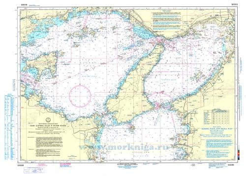 64338 Плес Харима-Нада и залив Осака (Масштаб 1:125 000)