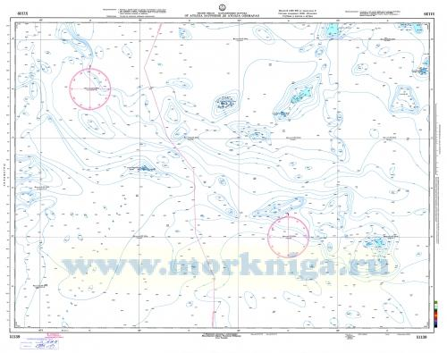 51139 От атолла Эаурипик до атолла Олимарао (Масштаб 1:500 000)