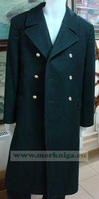 Шинель ВМФ (черная офицерская) 176-108, 54-4
