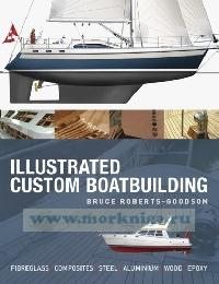 Illustrated custom boatbuilding. Fiberglass, composites, steel, aluminium, wood, epoxy