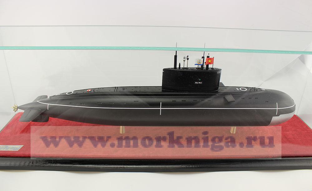 Модель подводной лодки Проекта 636.1 HQ-182 «Ханой»