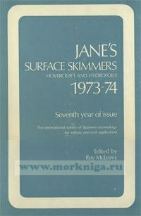 Jane's Surface Skimmers. Hovercraft and Hydrofolis. 1973-74