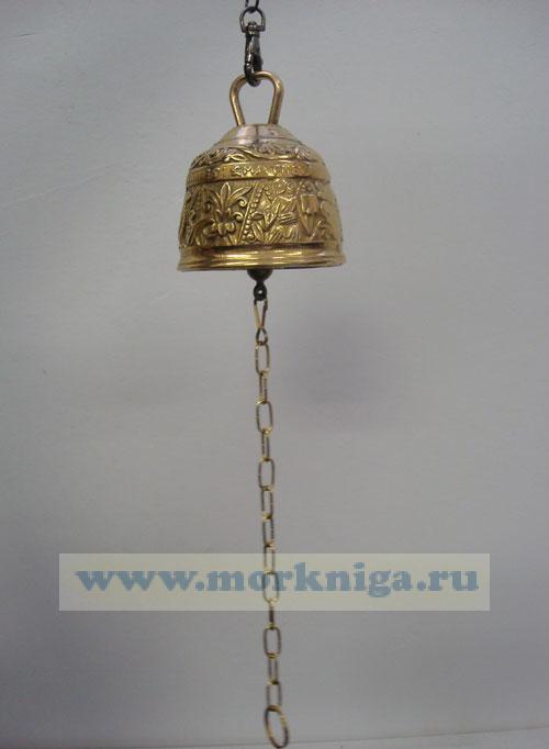 Колокольчик подвесной (высота 9,5 см, диаметр 8,5 см)